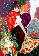 Intimacy 1 PP Limited Edition Print by Roy Fairchild-Woodard - 0