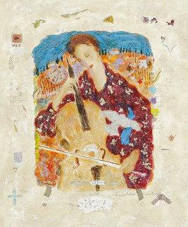 Cellist 1995 Limited Edition Print - Roy Fairchild-Woodard