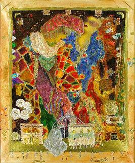 Writing on Walls - Super Huge Limited Edition Print - Roy Fairchild-Woodard