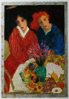 Bright Colours 1992 Limited Edition Print by Roy Fairchild-Woodard
