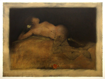 Reclining Nude AP 1994 Limited Edition Print by Roy Fairchild-Woodard