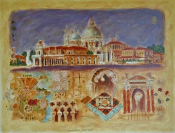 Santa Maria Della Salute PP 1998 Limited Edition Print by Roy Fairchild-Woodard