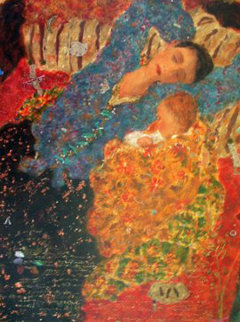 Just Dreaming 1999 Limited Edition Print by Roy Fairchild-Woodard