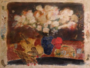 White Flowers Limited Edition Print by Roy Fairchild-Woodard