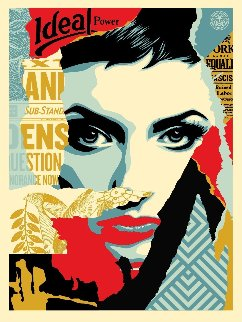 We the People, Ideal Power 2017 Limited Edition Print by Shepard Fairey