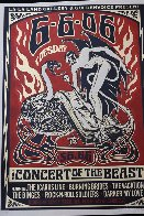 Concert of the Beast  2006 Limited Edition Print by Shepard Fairey  - 1