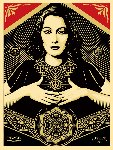 Peace And Justice Woman AP 2013 Limited Edition Print - Shepard Fairey