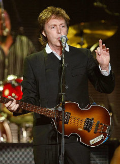 Paul McCartney  Live At the Joint At The Hard Rock Cafe, Las Vegas 2009 Limited Edition Print - Shepard Fairey