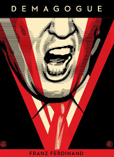 Demagogue AP  2016 Limited Edition Print - Shepard Fairey