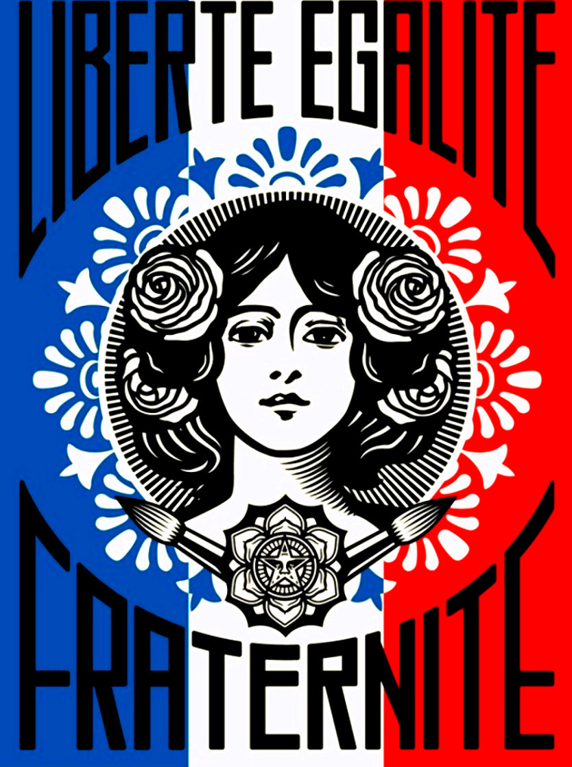 Liberte AP 2016 Limited Edition Print by Shepard Fairey