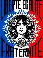 Liberte AP 2016 Limited Edition Print by Shepard Fairey  - 0