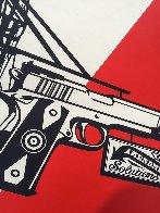 2nd Amendment Solutions 2011 (Gun) Limited Edition Print by Shepard Fairey  - 6