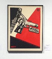 2nd Amendment Solutions 2011 (Gun) Limited Edition Print by Shepard Fairey  - 4