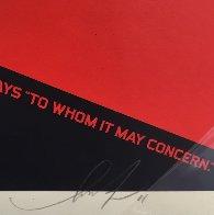 2nd Amendment Solutions 2011 (Gun) Limited Edition Print by Shepard Fairey  - 5