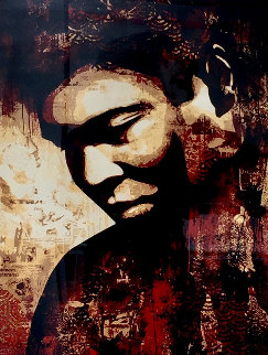 Ali 2010 Limited Edition Print by Shepard Fairey