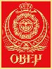 Ankara Red 2005 Limited Edition Print by Shepard Fairey  - 1