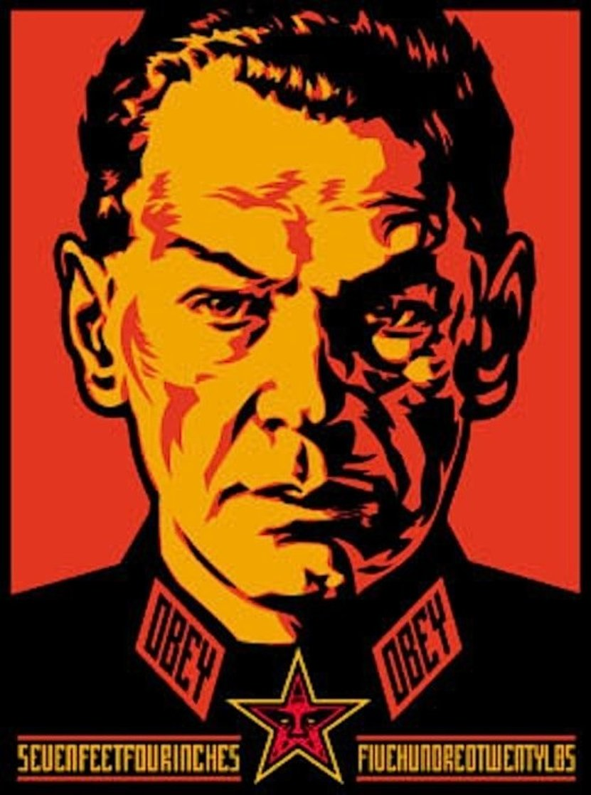 Authoritarian 2000 Limited Edition Print by Shepard Fairey
