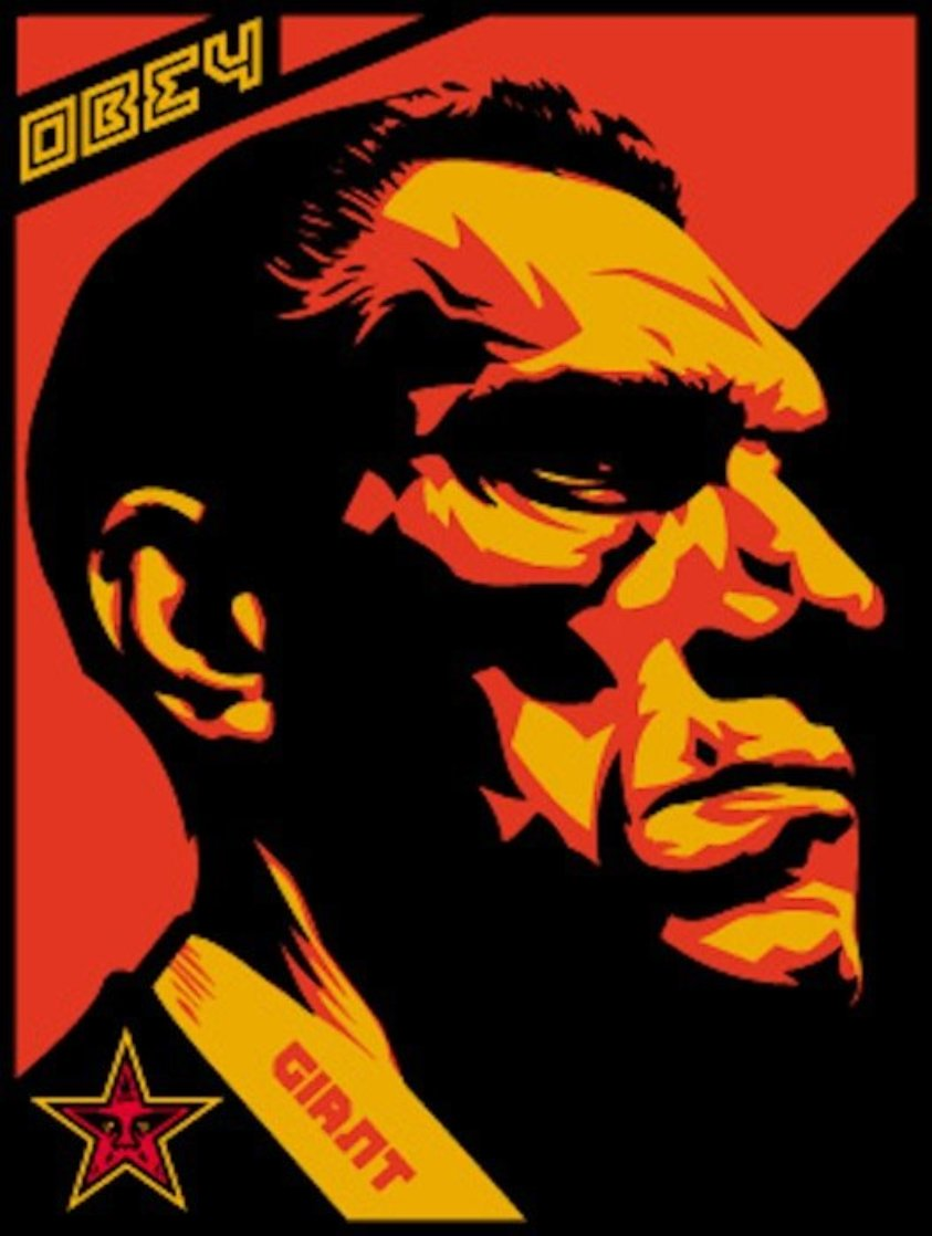 Big Brother Profile 2000 Limited Edition Print by Shepard Fairey