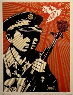 Chinese Soldiers 2006 Limited Edition Print by Shepard Fairey  - 0