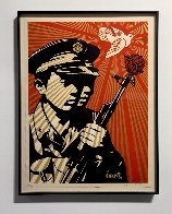 Chinese Soldiers 2006 Limited Edition Print by Shepard Fairey  - 1