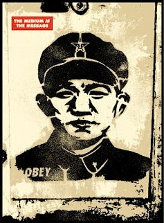 Chinese Stencil 2001 Limited Edition Print - Shepard Fairey
