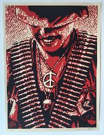 Duality of Humanity #1 2008 Limited Edition Print by Shepard Fairey  - 4