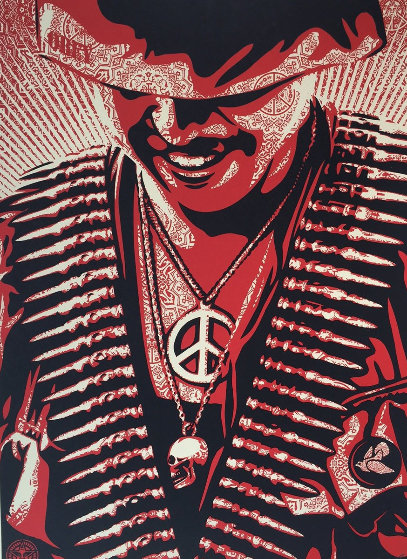 Duality of Humanity #1 2008 Limited Edition Print by Shepard Fairey