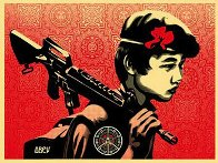 Duality of Humanity #2 2009 Limited Edition Print by Shepard Fairey  - 1