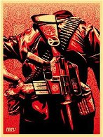 Duality of Humanity #3 2008 Limited Edition Print by Shepard Fairey  - 1