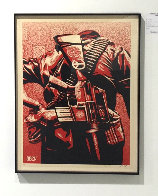 Duality of Humanity #3 2008 Limited Edition Print by Shepard Fairey  - 2