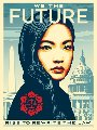 We the Future Triptych, Suite of 3 2018 Limited Edition Print - Shepard Fairey