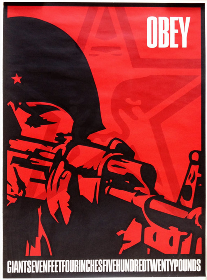 Korean Soldier 1988 Limited Edition Print by Shepard Fairey