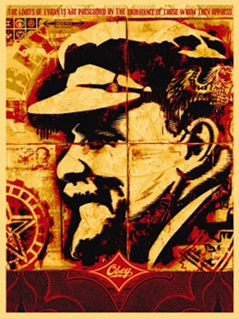 Lenin Record 2005 Limited Edition Print by Shepard Fairey