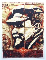 Lenin Record 2005 Limited Edition Print by Shepard Fairey  - 2