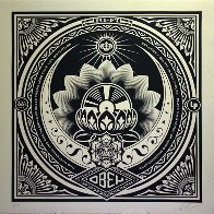 Lotus Album Large Format  2000 Limited Edition Print by Shepard Fairey  - 0