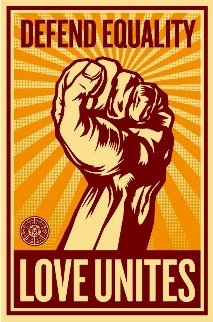 Love Unites 2008 Huge Limited Edition Print - Shepard Fairey