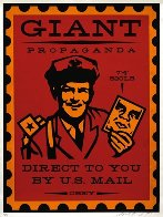 Mail Man 2000 Limited Edition Print by Shepard Fairey  - 0