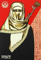 Muslim Woman 2003 Limited Edition Print by Shepard Fairey  - 0