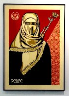 Muslim Woman 2003 Limited Edition Print by Shepard Fairey  - 1