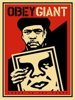 Nubian Sign 2000 Limited Edition Print by Shepard Fairey