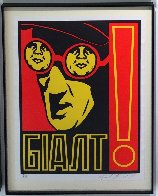 Glasses 1997 Limited Edition Print by Shepard Fairey  - 1