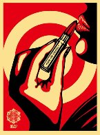 Kiss Me Deadly Red AP 2008 Limited Edition Print by Shepard Fairey  - 0