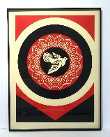 Obey Dove Black and Red, Set of 2 Prints 2011  Limited Edition Print by Shepard Fairey  - 3