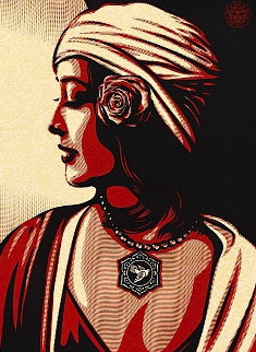 Obey Harmony Relief 2012 Limited Edition Print by Shepard Fairey
