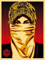 Occupy Protester 2012 Limited Edition Print by Shepard Fairey  - 0