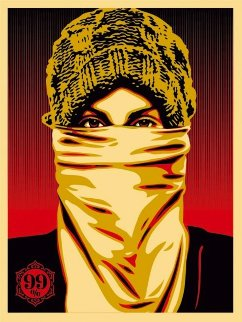 Occupy Protester 2012 Limited Edition Print by Shepard Fairey