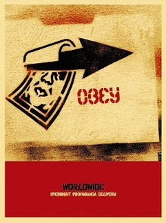 Overnight Delivery 2002 Limited Edition Print by Shepard Fairey