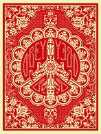 Peace Bomber Red 2008 Limited Edition Print by Shepard Fairey  - 0