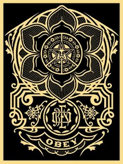 Peace Ornament 2006 Limited Edition Print by Shepard Fairey