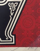 Peace Tree 2007 Limited Edition Print by Shepard Fairey  - 2